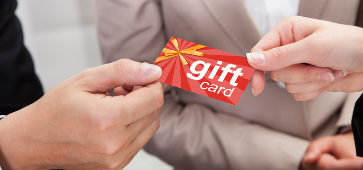 Giving or receiving gift cards - new rules protect NSW consumers