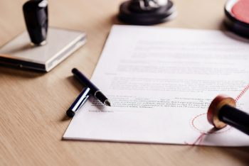 Has your company signed the Contract correctly?